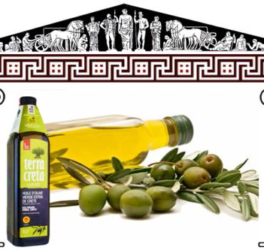 Huile olive Crétoise - Commande Bruxelles Chez Niko