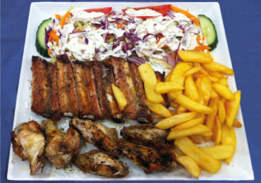 Mix grill ailes et petits os