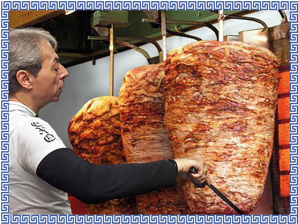NIKOS Menu livraison grillade repas grec Bruxelles