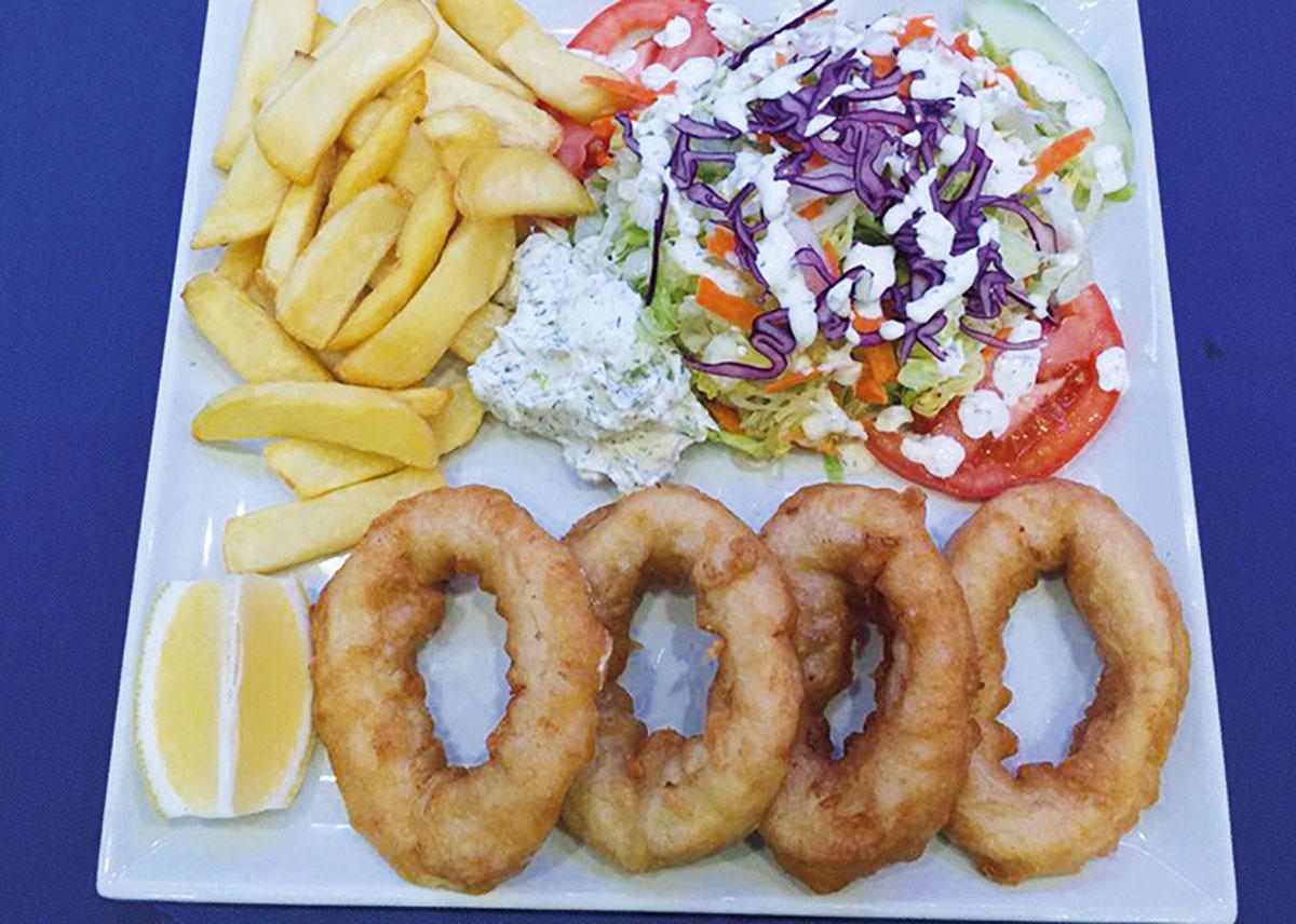 PLAT Calamars Frits - Grillade Chez Nikos