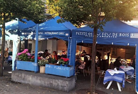 Restaurant La Grillade Chez Nikos - Livraison plats grec Bruxelles