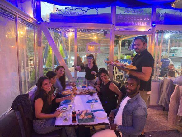 Restaurant La Grillade Chez Nikos - La Terrasse