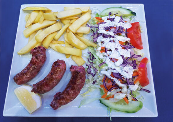 Saucisses grecques