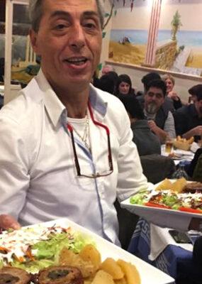 Chef cuisinier Nikos - Gérant établissement La Grillade Chez Nikos - Restaurant Grec 1060 Bruxelles